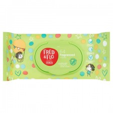 Fred and Flo Ultra Soft Fragranced Wipes 64 Pack