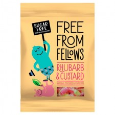 Free From Fellows Rhubarb and Custard Sweets 70g