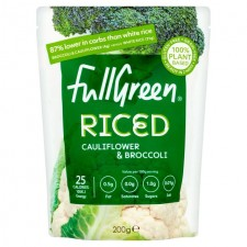 Fullgreen Cauli Rice Cauliflower Rice with Broccoli 200g