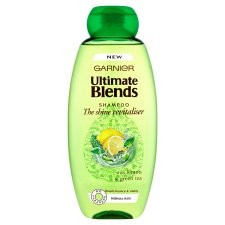 Garnier Ultimate Blends Shine Revitaliser Shampoo 360ml
