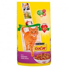 Go-Cat Adult Cat Food Chicken and Duck 2kg