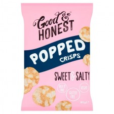 Good and Honest Popped Chips Sweet and Salty 85g