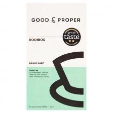 Good and Proper Tea Rooibos Loose Leaf 75g