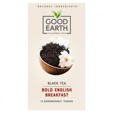 Good Earth Teabags Bold English Breakfast 15 per pack