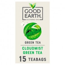 Good Earth Teabags Cloudmist Green Tea 15 per pack
