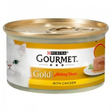 Gourmet Gold Cat Food Melting Heart Chicken 85g