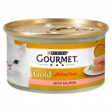 Gourmet Gold Cat Food Melting Heart Salmon 85g