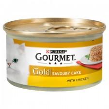 Gourmet Gold Cat Food Savoury Cake Chicken 85g