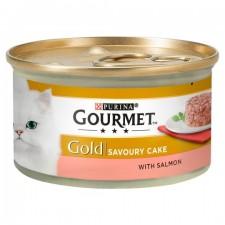 Gourmet Gold Cat Food Savoury Cake Salmon 85g