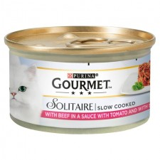 Gourmet Solitaire with Beef in a Tomato Sauce 85g