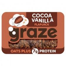 Graze Cocoa and Vanilla Protein Flapjack 54g