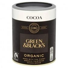 Green and Blacks Organic Cocoa Fairtrade 125g
