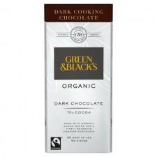 Green and Blacks Organic Dark Cooking Chocolate 150g