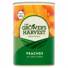 Growers Harvest Peach Slices in Syrup 410g