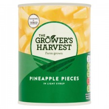 Growers Harvest Pineapple Pieces In Syrup 540g