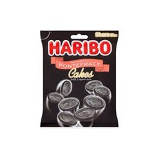 Haribo Pontefract Cakes 160g