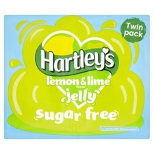 Hartleys Sugar Free Jelly Lemon and Lime 23g