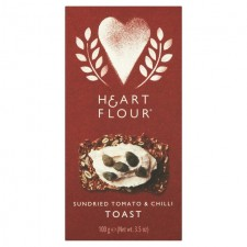 Heart and Flour Sundried Tomato and Chilli Toast 100g