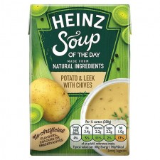 Heinz Soup of the Day Potato Leek And Chives 400g
