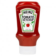 Heinz Tomato Ketchup Top Down Squeezy 460g