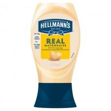 Hellmanns Real Mayonnaise 250ml