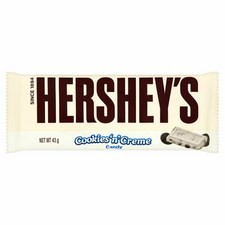 Hersheys Cookies and Creme Bar 40g