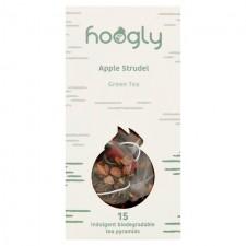 Hoogly Tea Apple Strudel Tea Pyramid Bags 15 per pack