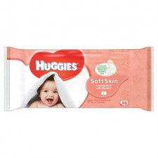 Huggies Wipes Soft Skin 56 per pack