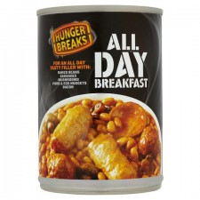 Hunger Breaks All Day Breakfast Beans 395g