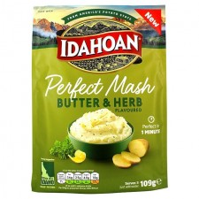 Idahoan Perfect Mash Butter and Herb Flavour 109g