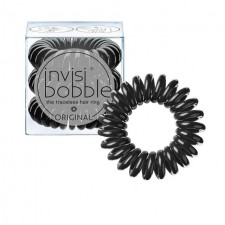 Invisibobble Original Black Hair Ties 3 per pack