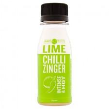 James White Organic Lime Chilli Zinger Shot 70ml