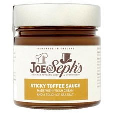 Joe and Sephs Sticky Toffee Sauce 230g