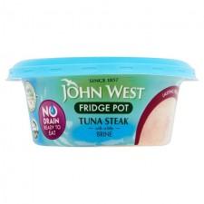John West No Drain Tuna Steak In Brine 110g