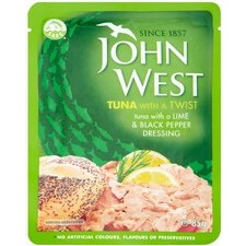 John West Tuna Lime and Pepper Pouch 85g