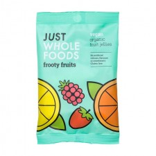 Just Wholefoods Organic and Vegan Frooty Fruits 100g