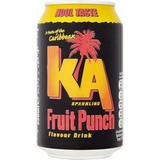 KA Sparkling Fruit Punch Drink 330ml Can