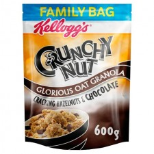 Kelloggs Crunchy Nut Granola Chocolate And Nut 600g