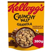 Kelloggs Crunchy Nut Oat Granola Chocolate and Hazelnut 380g