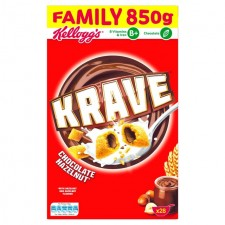 Kelloggs Krave Chocolate and Hazelnut 850g