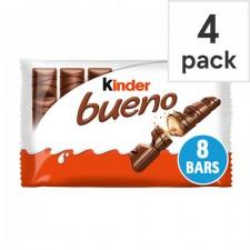 Kinder Bueno 4 Twin Bars