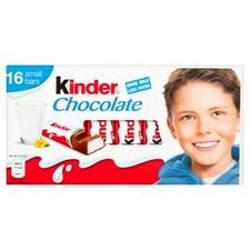 Kinder Chocolate 16 Small Bars 200g