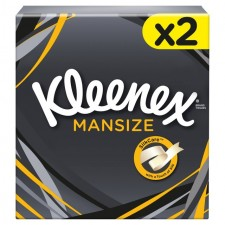 Kleenex For Men Tissues 2ply Twin pack
