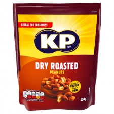 KP Dry Roasted Peanuts 250g