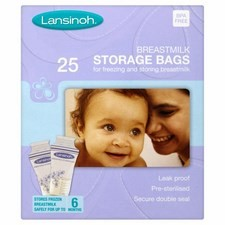 Lansinoh Baby Breast Milk Storage Bags x25
