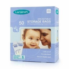 Lansinoh Breastmilk Storage Bags x50