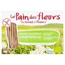 Le Pain des Fleurs Organic Buckwheat Crispbread 125g
