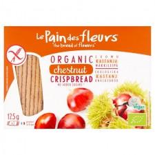Le Pain des Fleurs Organic Chestnut Crispbread 125g