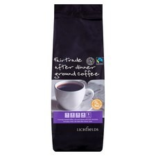 Lichfields Fairtrade After Dinner Ground Coffee 500g