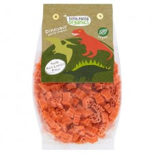 Little Pasta Organics Dinosaur Shaped Red Lentil Pasta 250g for Toddlers and Kids